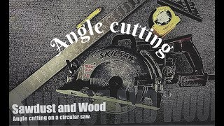 Angle cutting on a circular saw. Did you know this?