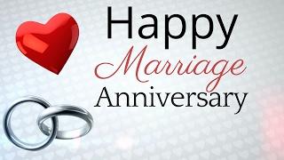 Marriage Anniversary Wishes | Happy Wedding Anniversary Message