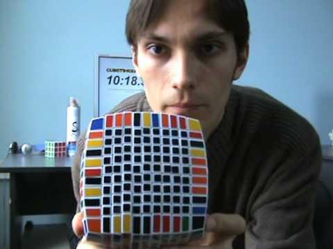 Xoay Rubik lv 11x11x11...Bá cmn đạo