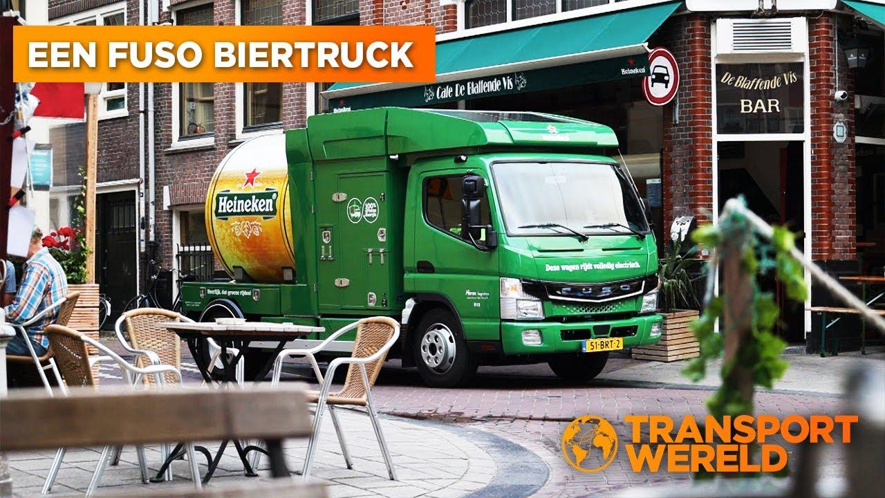 Hoe bier elektrisch vervoerd wordt!