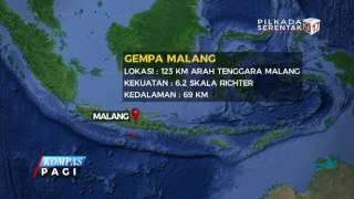 Gempa 62 SR Guncang Malang