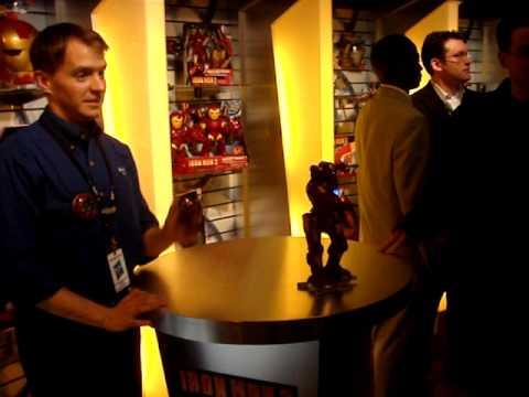 This Iron Man Robot Shot Me