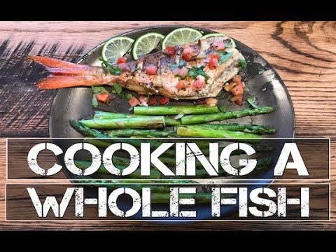 HOW TO COOK A WHOLE FISH: RECIPE
