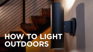 How to Light Outdoors