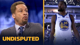 Chris Broussard offers advice to Kevin Durant after his comments at the media | NBA | UNDISPUTED