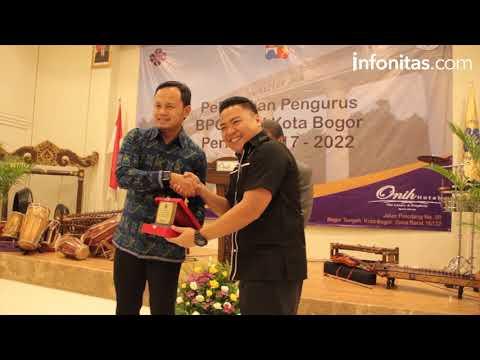 Pelantikan Pengurus Baru PHRI Kota Bogor
