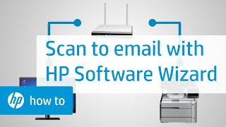 Hp Laserjet Pro Mfp How To Scan To Email Hp Customer Support