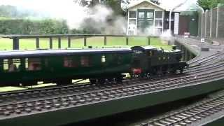 Playing Gauge 1 trains at the White Horse Railway July 2015