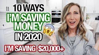10 WAYS IM SAVING MONEY IN 2020 | Im Saving $20,000
