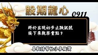 蘇建豐 簡單操盤順著趨勢走 影音分析 2018/9/11