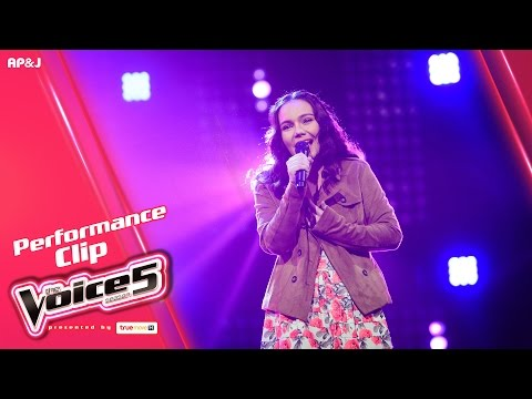 The Voice Thailand - ชีน่า อสมา - The Day You Went Away - 15 Jan 2017