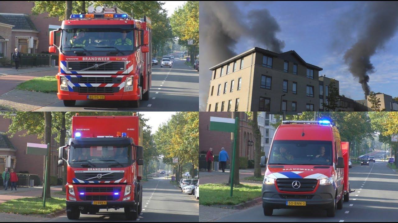 [Grip 1] Grote Brand in Parkeergarage Stadhouderslaan Oosterhout NB