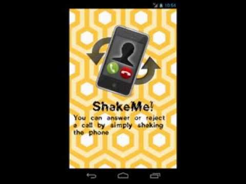 Video of ShakeMe!