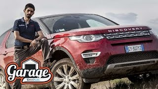 Land Rover Discovery Sport, la prova in off road di Giuliano
