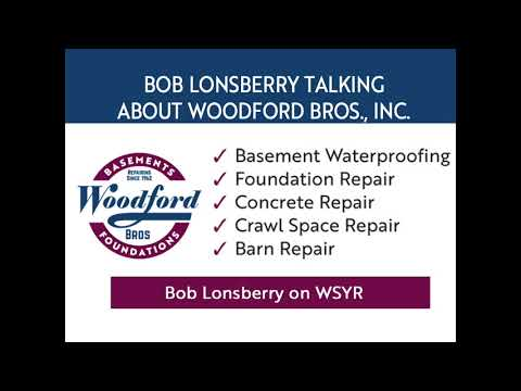 Bob Loneberry on WSYR talking about Woodford Bros., Inc.