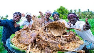 RAMZAN SPECIAL! 5 FULL GOAT MUTTON BIRYANI | Traditional Biryani Recipe | Village Cooking Channel