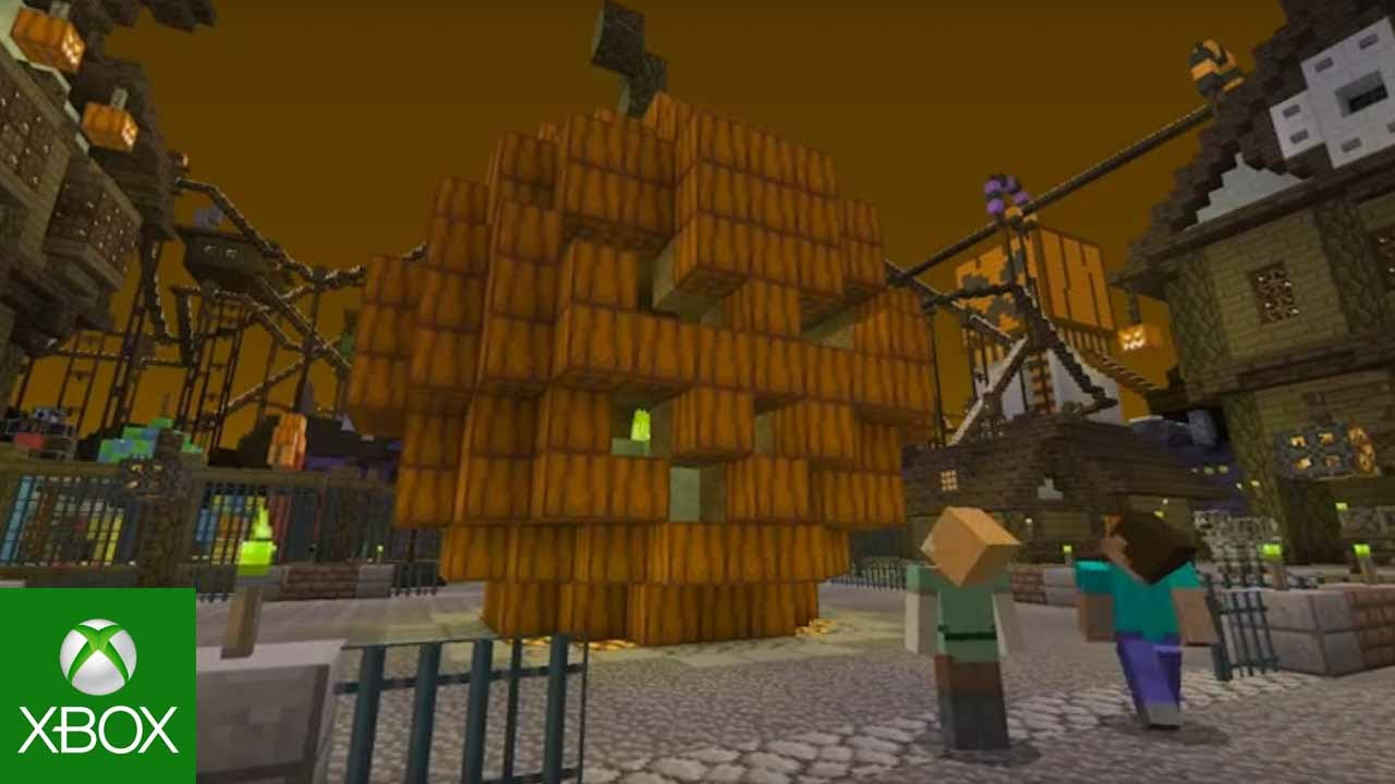 Prepare for Scares with the Halloween Mashup Pack for Minecraft ...
