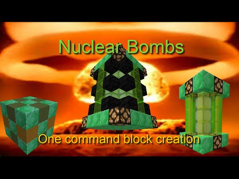 Nuclear Bombs - One Command Creations