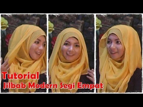 Video Video Cara Memakai Jilbab Segi Empat Modern #by Revi