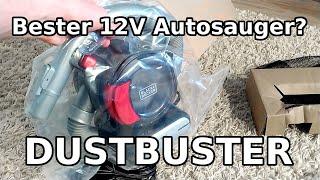 Black & Decker Dustbuster Flexi Auto [PD1200AV] - Bester 12V Autostaubsauger?