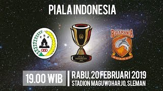 Video Live Streaming Piala Indonesia, PSS Sleman Vs Borneo FC, Rabu Pukul 19.00 WIB
