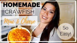 How To Make Crawfish Macaroni & Cheese