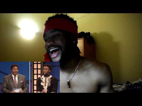 Black Jeopardy with Chadwick Boseman - SNL/Reaction
