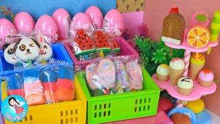 ละครสั้น เปิดร้านขายไอติม ไอติมแป้งโดว์ รีวิวของเล่นไอติม Baby Doll Play Doh Ice Cream