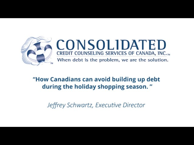 How Canadians can avoid building up debt during the holiday shopping season.