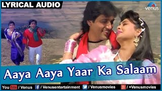 Aaya Aaya Yaar Ka Salaam Full Song With Lyrics | Jaisi Karni