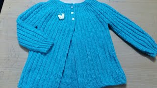 Crochet Sweater For 3 To 4 Yrs. Beginners Friendly.