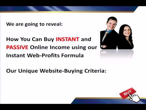 Buying and Selling Websites for Instant Income