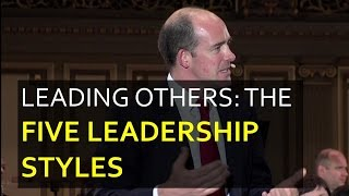 The 5 Leadership Styles