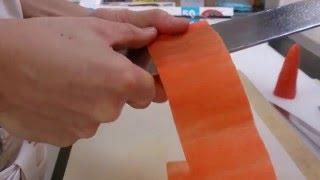 桂剥き 人参 Carrots Cut Way
