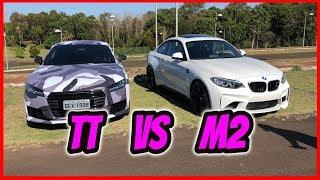 AUDI TT VS BMW M2 (DIRIGI A M2)