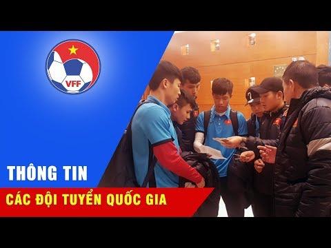 U23 Việt Nam đã có mặt tại Changshu, hướng đến trận đấu quyết định gặp U23 Syria