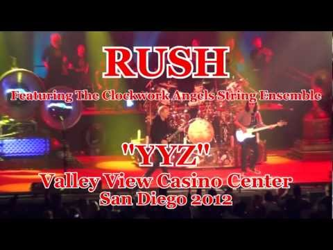 "RUSH Feat. The Clockwork Angels String Ensemble ""YYZ"" Valley View Casino Center San Diego 2012"