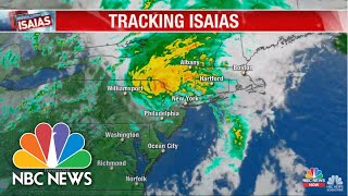 Watch Live: Track Hurricane Isaias As It Moves Toward The East Coast | NBC News