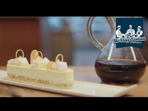 Pairing light roast UCC Coffee with a lemon dessert by Sarah Hartnett