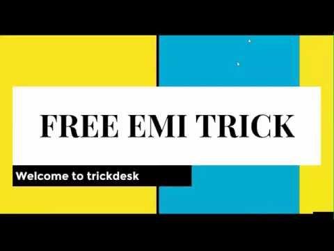 Video Interest Free Credit Card EMI Trick
