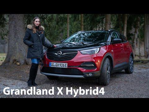 Larissa fährt den neuen Opel Grandland X Hybrid4 (Plug-in Hybrid) / Girls Review - Autophorie