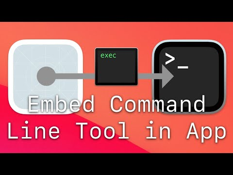 Embed Command Line Tool in Mac App thumbnail