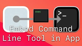 Embed Command Line Tool in Mac App