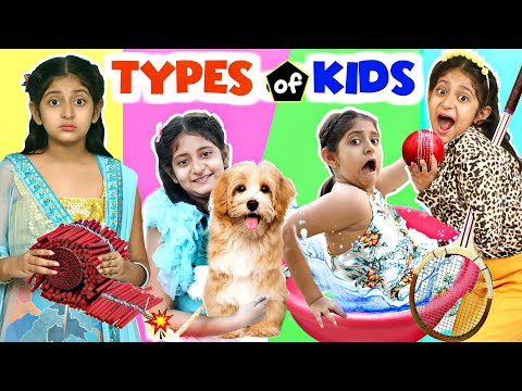 TYPES OF KIDS - Bachche Mann Ke Sachche | MyMissAnand