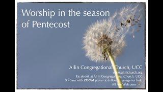 Worship 6-21-20
