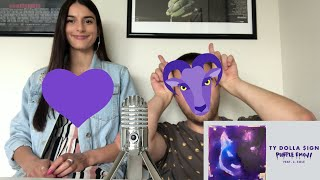 Ty Dolla $ign   Purple Emoji Feat. J. Cole 😈REACTION💜 By HipHopLuVeRZ