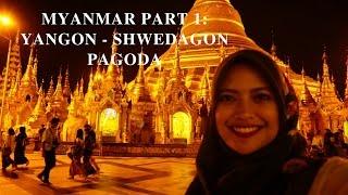 MYANMAR VIDEO - Shwedagon Pagoda, Yangon