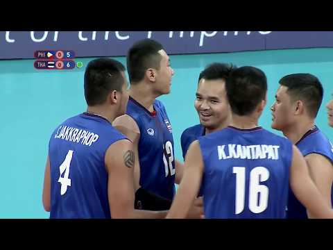 SEA Games 2019: Philippines VS Thailand Volleyball Men's Division SEMI-FINALS