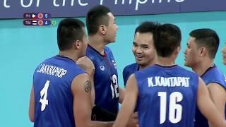 SEA Games 2019: Philippines VS Thailand Men's Division SEMI-FINALS | Volleyball