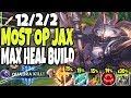 Download Lagu MECHA KINGDOMS JAX 🔥 MAX HEAL BEYOND BROKEN SEASON 10 JAX BUILD 🔥 LoL Top Jax vs Sett s10 Gameplay Mp3 Free